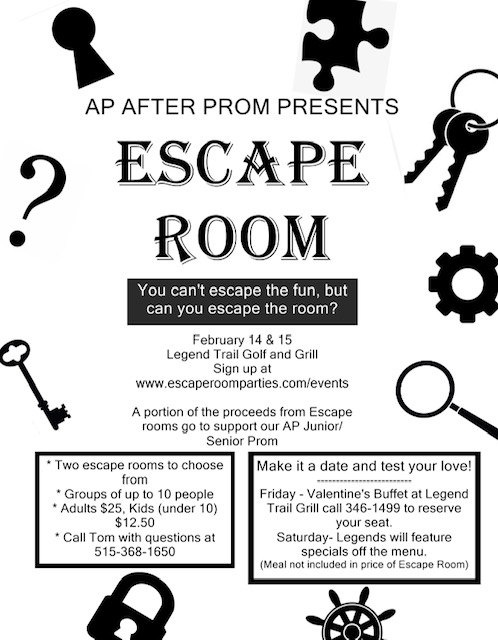 AP After Prom Escape Room