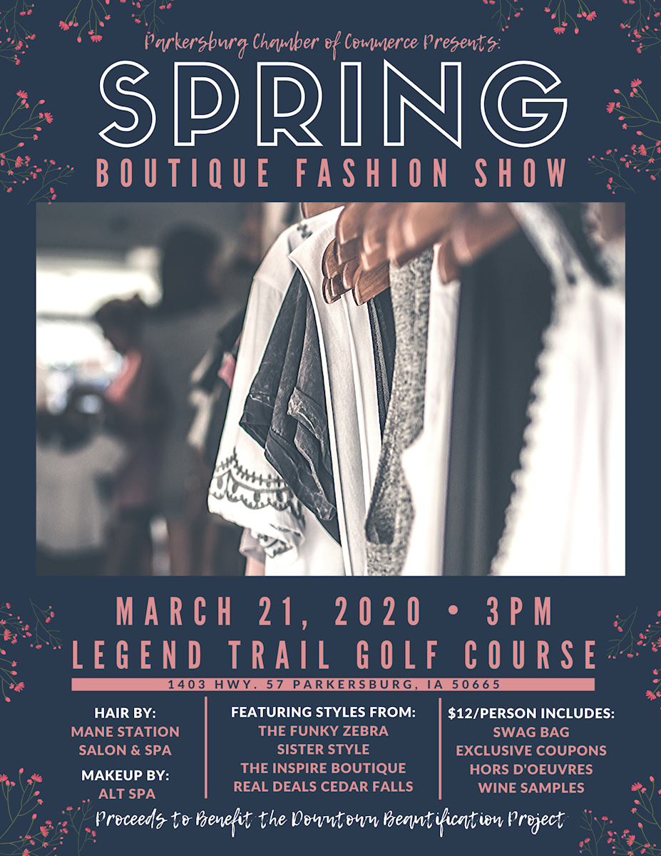 Spring Boutique Fashion Show Fundraiser