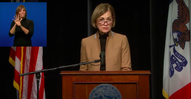 Gov. Reynolds introduces the Residential Utility Disruption Prevention Program