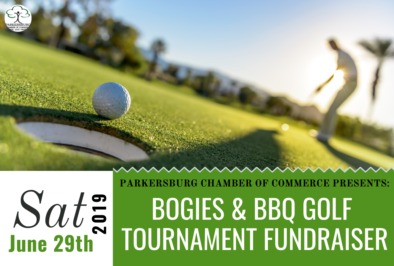 Parkersburg Chamber Bogies & BBQ Golf Tournament Fundraiser