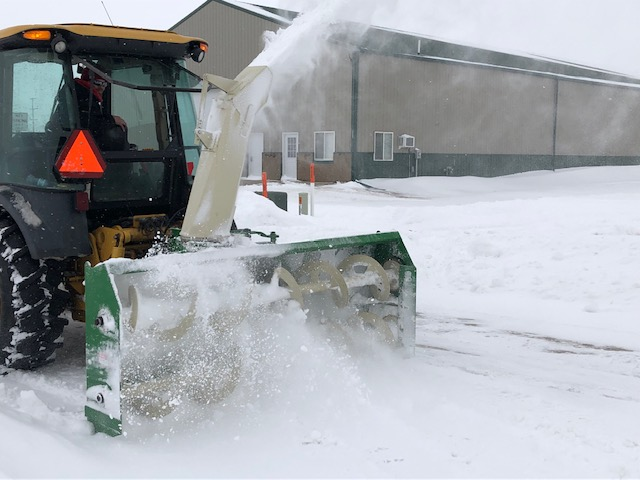 Photo of Parkersburg's Snow Blower